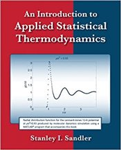 Introduction to Applied Statistical Thermodynamics - Sandler, I. Stanley