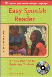 Easy Spanish Reader w/CD-ROM - Tardy, William T.