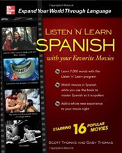 Listen n Learn Spanish with Your Favorite Movies - Thomas, Scott