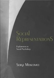 Social Representations : Studies in Social Psychology - Moscovici, Serge