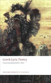 Greek Lyric Poetry -