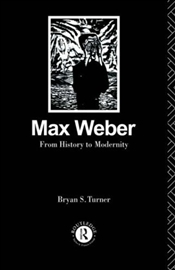 MAX WEBER : THE LAWYER AS SOCIAL THINKER - Turner, Bryan S.