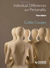 Individual Differences and Personality 3e - Cooper, Colin