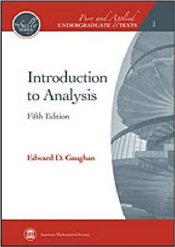 Introduction to Analysis 5E - Gaughan, Edward