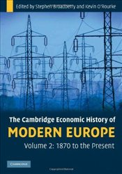 Economic History of Modern Europe Vol. 2 : 1870 to the Present - Broadberry, Stephen