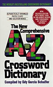 Avon New Comprehensive A-Z Crossword Dictionary - Schaffer, Edy Garcia