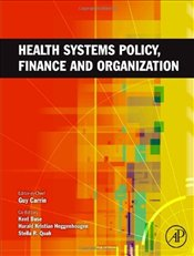 Health Systems Policy, Finance, and Organization -