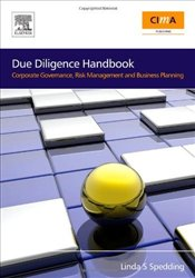 Due Diligence Handbook: Corporate Governance, Risk Management and Business Planning - Spedding, Linda S.