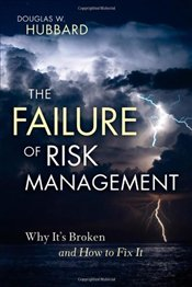 Failure of Risk Management: Why its Broken and How to Fix it - Hubbard, Douglas W.