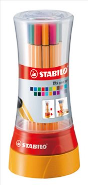 Stabilo - Point 8819-1 Twister (19 Renk) -