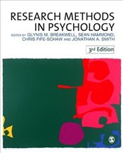 Research Methods in Psychology 3e - Breakwell, Glynis M.