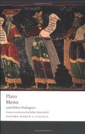 Meno and Other Dialogues : Charmides, Laches, Lysis, Meno - Platon (Eflatun)