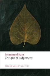Critique of Judgement  - Kant, Immanuel