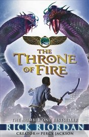 Kane Chronicles : The Throne of Fire - Riordan, Rick