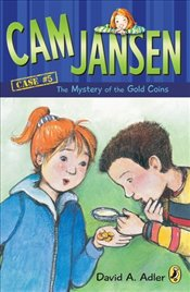 CAM Jansen : The Mystery of the Gold Coins  - Adler, David A.