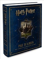 Harry Potter Page to Screen : Complete Filmmaking Journey - McCabe, Bob