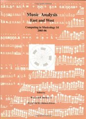 Music Analysis East and West: No. 14 : Computing in Musicology - Hewlett, Walter B