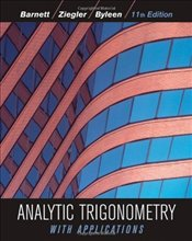 Analytic Trigonometry with Applications 11E WIE : Student Solutions Manual - Barnett, Raymond A.