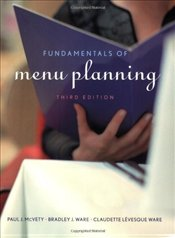 Fundamentals of Menu Planning 3e - McVety, Paul