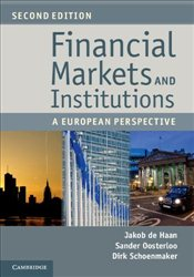 Financial Markets and Institutions : A European Perspective - Haan, Jakob de