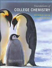 Foundations of College Chemistry 12E - Hein, Morris