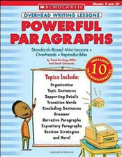 Powerful Paragraphs, Grades 4 and Up  - Miller, Carol Rawlings