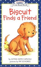 Biscuit Finds a Friend (I Can Read - Shared My First Reading) - Capucilli, Alyssa Satin