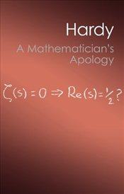Mathematicians Apology - Hardy, Godfrey H.