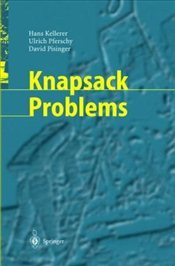 Knapsack Problems - Kellerer, Hans
