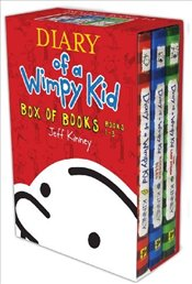 Diary of a Wimpy Kid  : Boxed Set - Kinney, Jeff