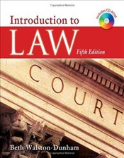 Introduction to Law - Walston-Dunham, Beth