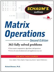 Schaums Outline of Matrix Operations - Bronson, Richard
