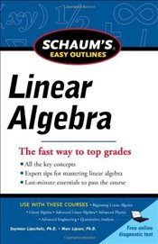 Schaums Easy Outline of Linear Algebra Revised - Lipschutz, Seymour