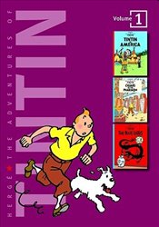 Adventures of Tintin 3 Complete Adventures in 1 Volume - Herge,