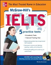 McGraw-Hills IELTS with Audio CD - Sorrenson, Monica
