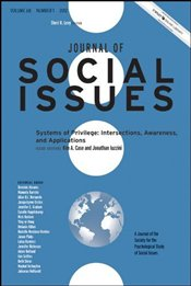 Journal of Social Issues : Systems of Privilege : Intersections, Awareness, and Applications - Case, Kim A.
