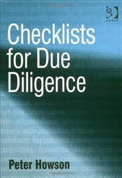 Checklists for Due Diligence - Howson, Peter