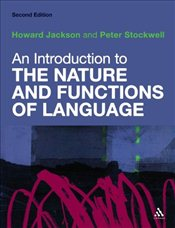Introduction to the Nature and Functions of Language 2e - JACKSON, HOWARD