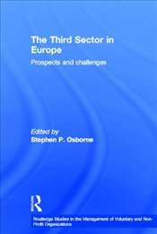 Third Sector in Europe: Prospects and Challenges - Osborne, Stephen