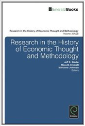Research in the History of Economic Thought and Methodology Vol. 30 Part A-B - Emmett, Ross B.