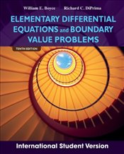 Elementary Differential Equations and Boundary Value Problems 10e ISV - Boyce, William E.