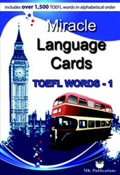 Miracle Language Cards : Toefl Words 1 -