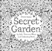 Secret Garden : An Inky Treasure Hunt and Colouring Book - Basford, Johanna