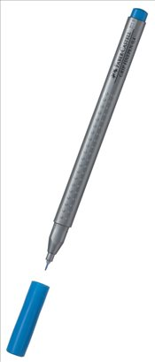 Faber Castell - Grip Finepen Kalem 0.4mm (Turkuaz-151653) -