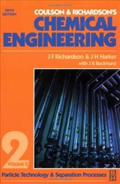 Chemical Engineering Volume 2 5e Rev. : Particle Technology and Separation Processes - Harker, J.H.