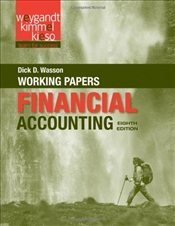 Financial Accounting : Working Papers - Weygandt, Jerry J.
