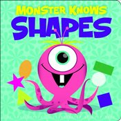 Monster Knows Shapes (Nonfiction Picture Books: Monster Knows Math) - Capote, Lori