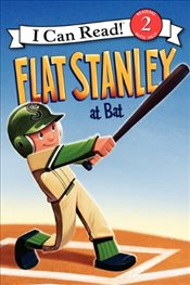 Flat Stanley at Bat : I Can Read Level 2 - Brown, Jeff