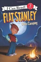 Flat Stanley Goes Camping (I Can Read - Level 2) - Brown, Jeff