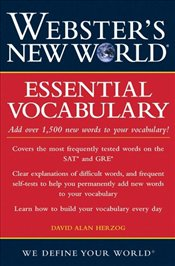 Websters New World Essential Vocabulary - Herzog, David Alan